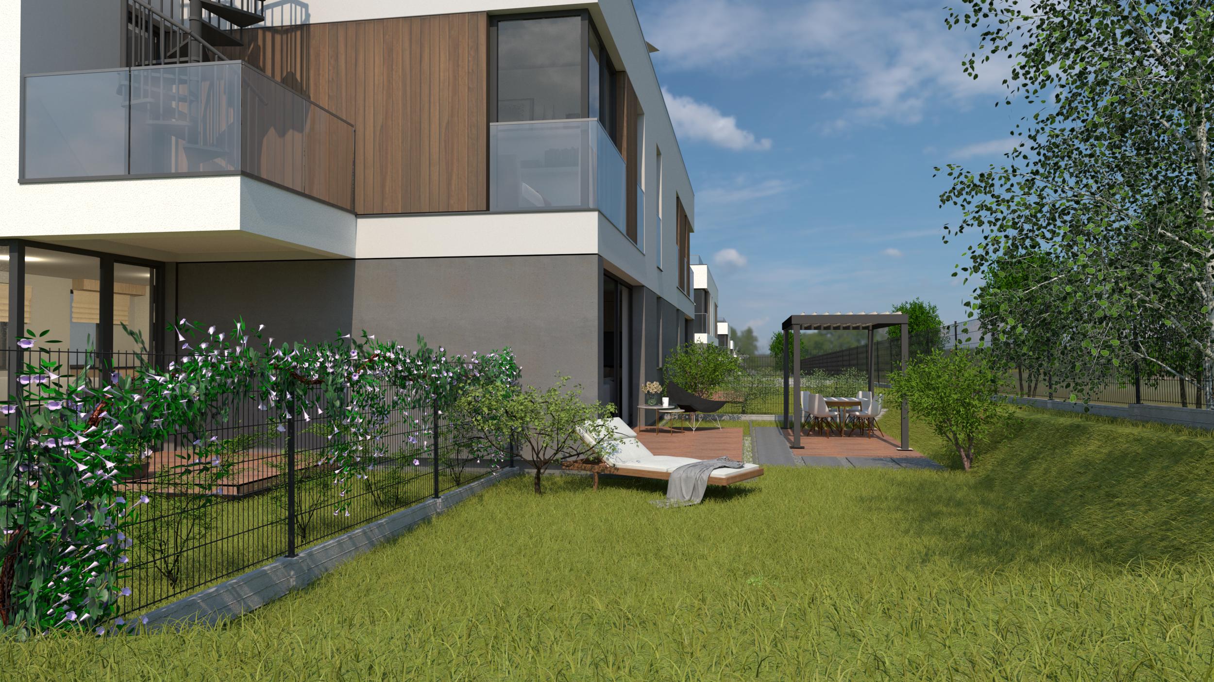 mieszkanie z ogródkiem węgrzce